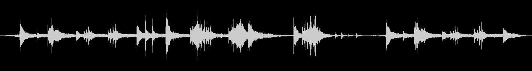 不気味・不思議なアンビエント(ループ可)の未再生の波形