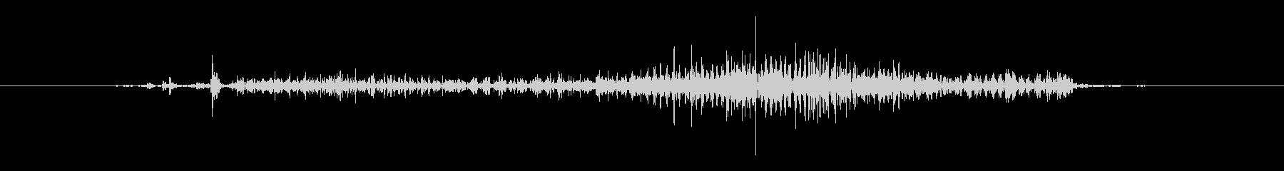 スモールレザーポーチジッパー:オー...の未再生の波形