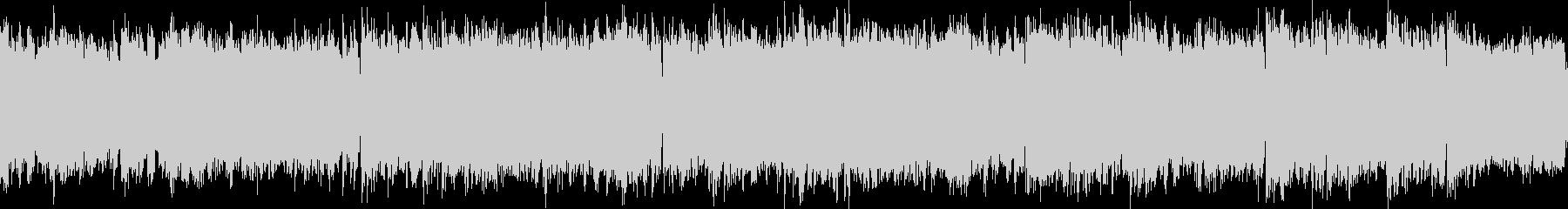 深海をイメージした神秘的な曲(ループ可)の未再生の波形