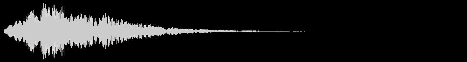 ティロリリン(決定、ゲーム、アプリ)の未再生の波形