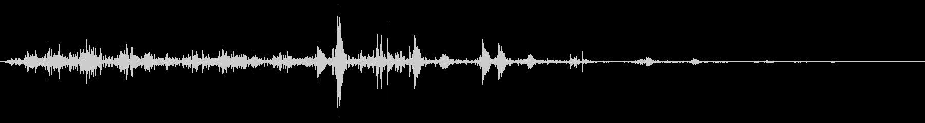 ネバネバ、ヌメヌメとした不気味な音A#1の未再生の波形