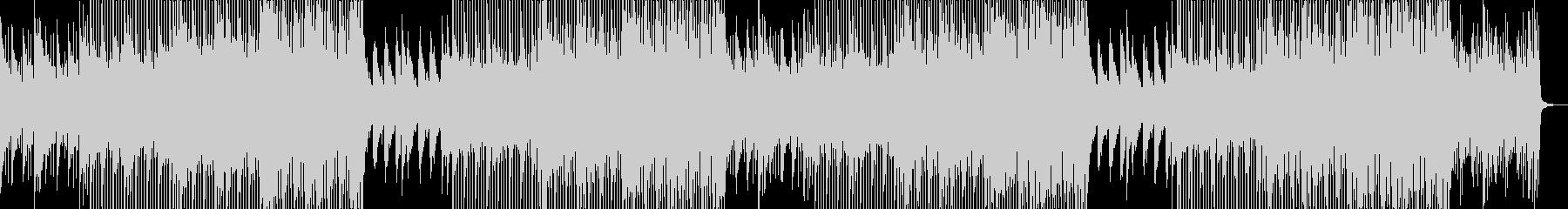アコギとピアノが爽やかな透明感のある曲の未再生の波形