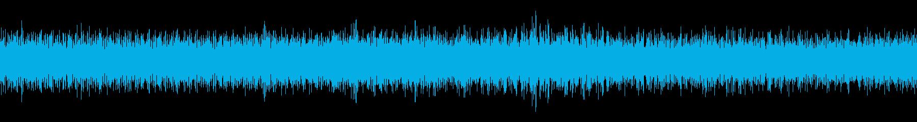 ダンプカーのアイドリングの再生済みの波形