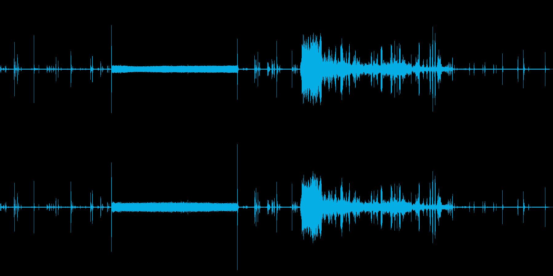 レストランカプチーノマシン:カプチ...の再生済みの波形