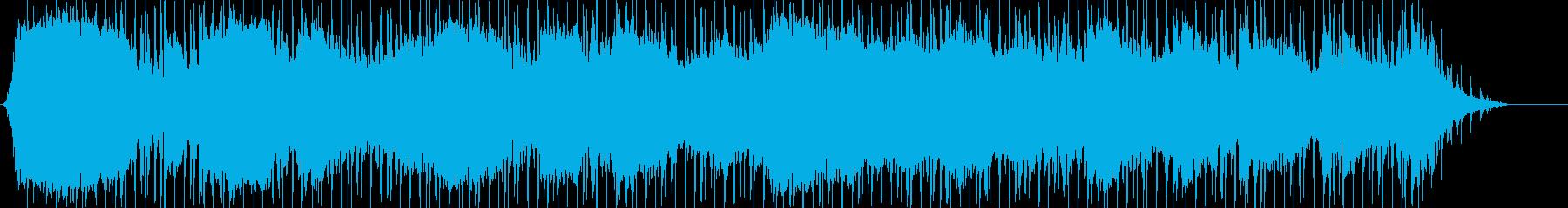 サンプリングされた声と唱音のある周...の再生済みの波形