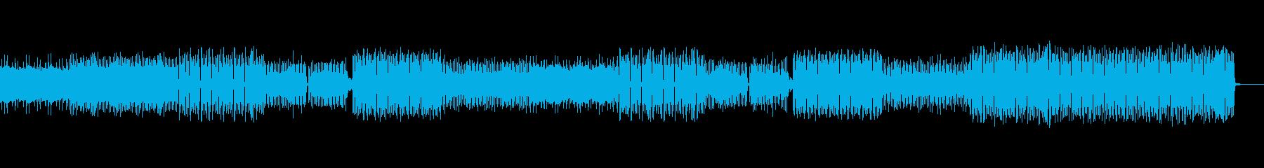 爽やかな広がりのあるアンビエントの再生済みの波形
