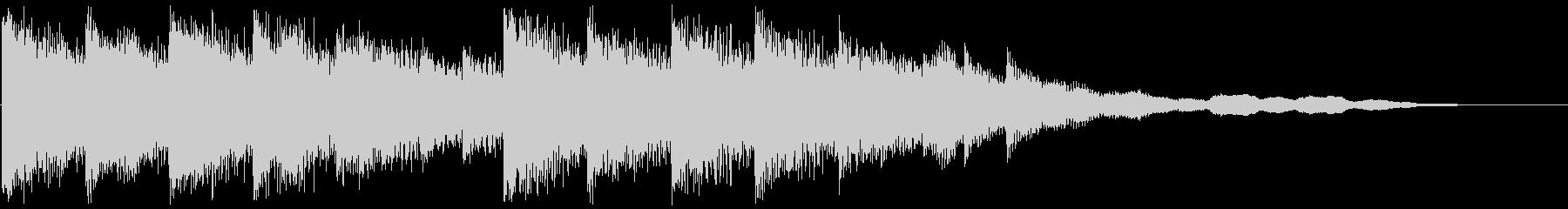 Cute fluffy synth jingle's unreproduced waveform