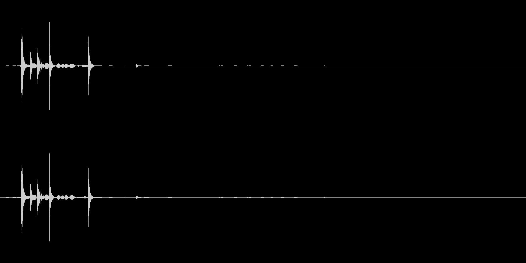 カランコロン05の未再生の波形