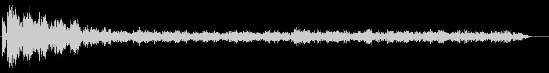 ロゴ、シネマティックヒット、デチュ...の未再生の波形