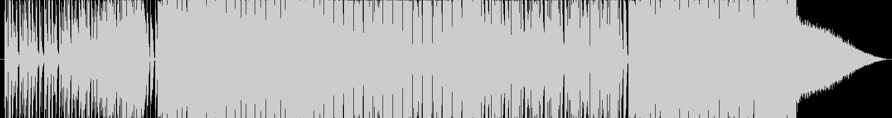 ビートが効いた爽やかなBGMの未再生の波形