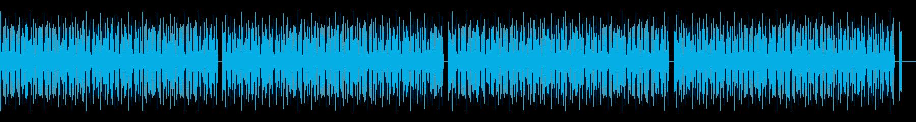 ドラムのみの再生済みの波形