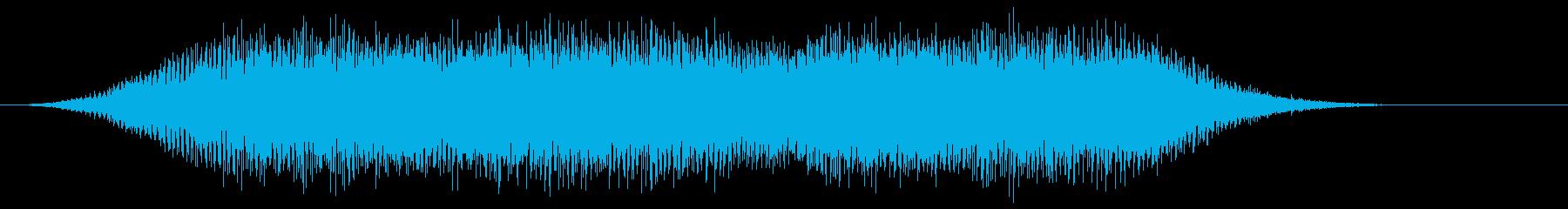 音楽:不気味なコンピューターのビー...の再生済みの波形