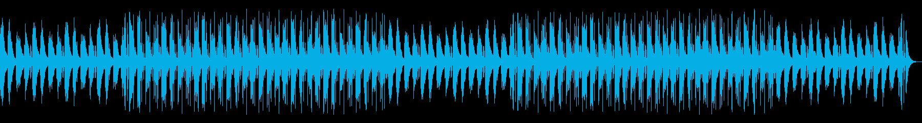おしゃれ優しいYouTubeチルアウトの再生済みの波形