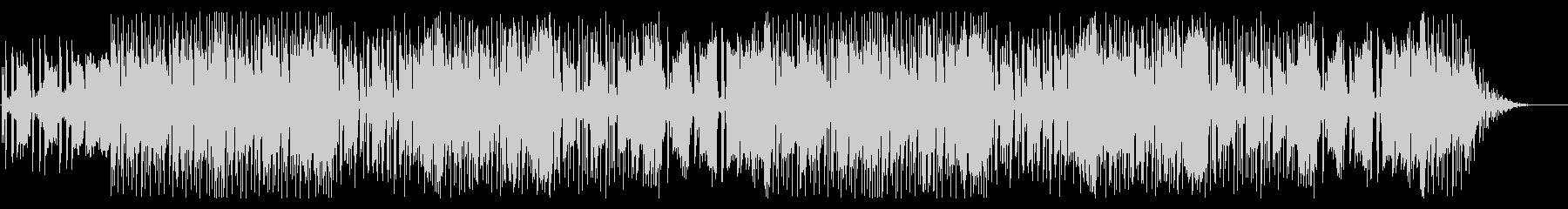 テクノでpopな明るめのBGM的楽曲の未再生の波形