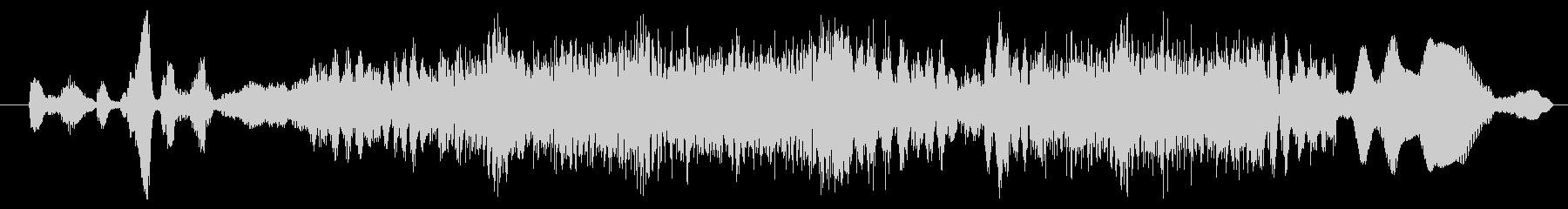 モンスター グリッチグロール01の未再生の波形
