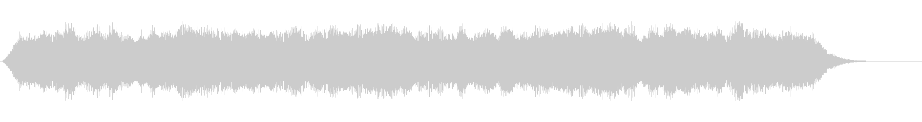 音楽:不気味な持続パイプオルガンコード。の未再生の波形