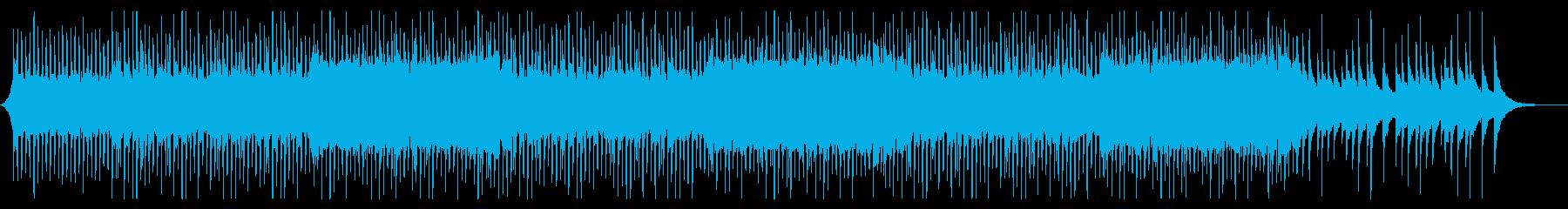 企業VPやCMに 希望の光 ピアノ・弦の再生済みの波形
