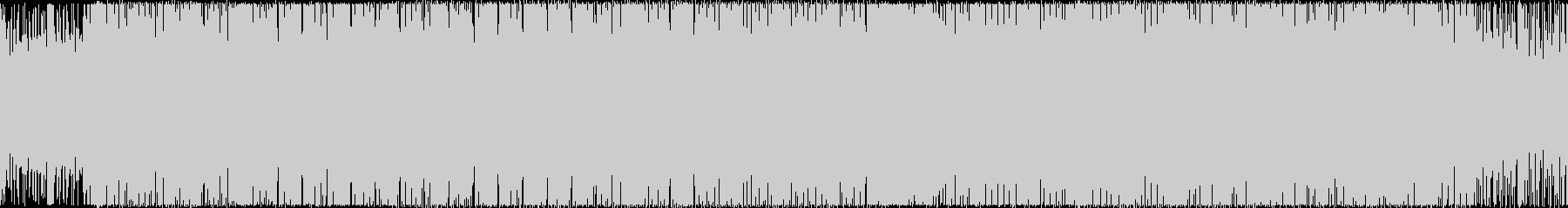 スピード感のある和風BOSS戦/M12の未再生の波形