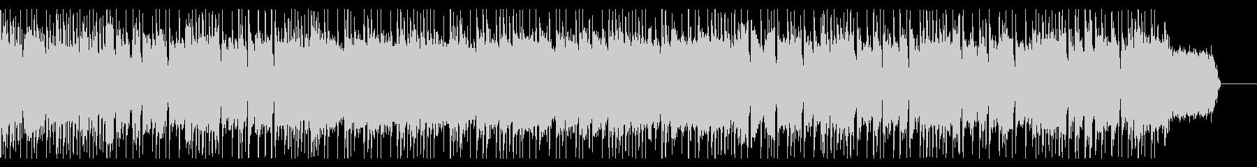 ドラムで始まるオーソドックスなロックの未再生の波形