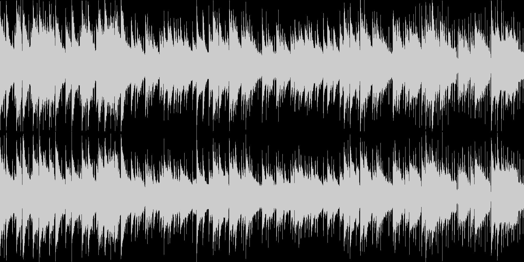 穏やかで優しい映像用音楽の未再生の波形