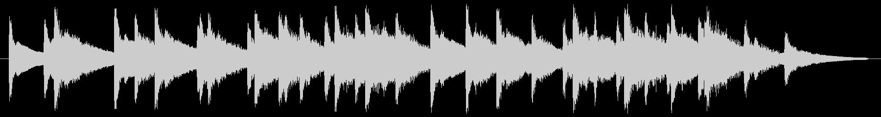 キラキラキラ(高い連続した金属音)の未再生の波形