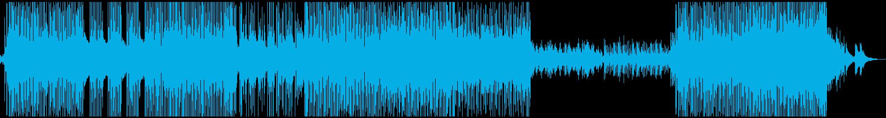 津軽三味線メインの和風シティーポップの再生済みの波形