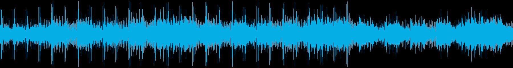 「緊迫・絶望」ホラー&サスペンス系BGMの再生済みの波形