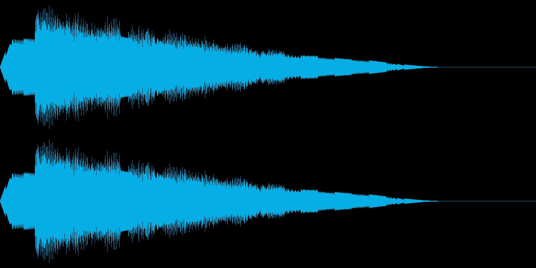 ピロピロ(移動ワープ/宇宙ファミコンSFの再生済みの波形