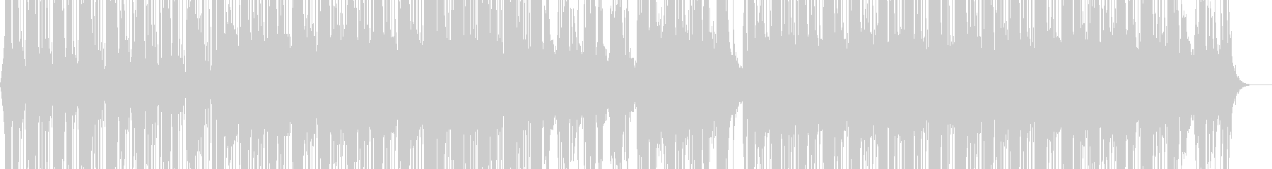 透明感のあるピアノのドラムンベースの未再生の波形