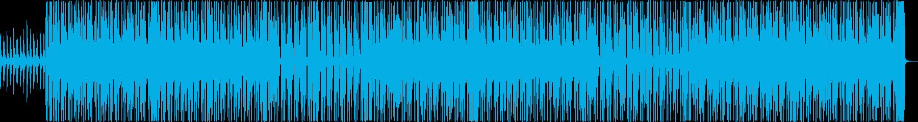 レゲエ  青い空と海の再生済みの波形