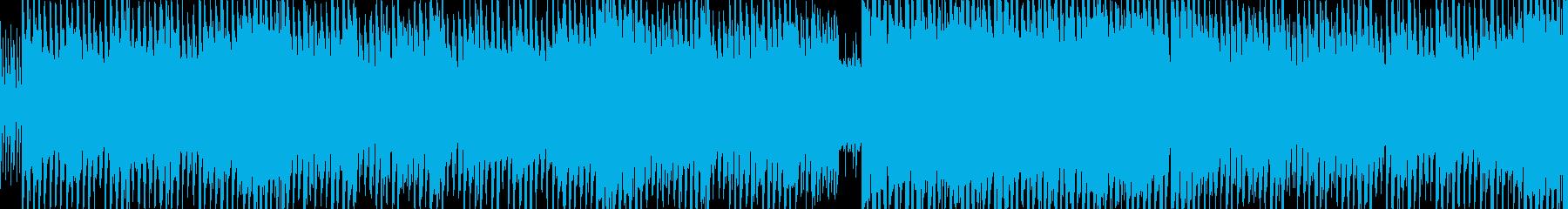 BGM、ゲーム、ダンスミュージックに最適の再生済みの波形
