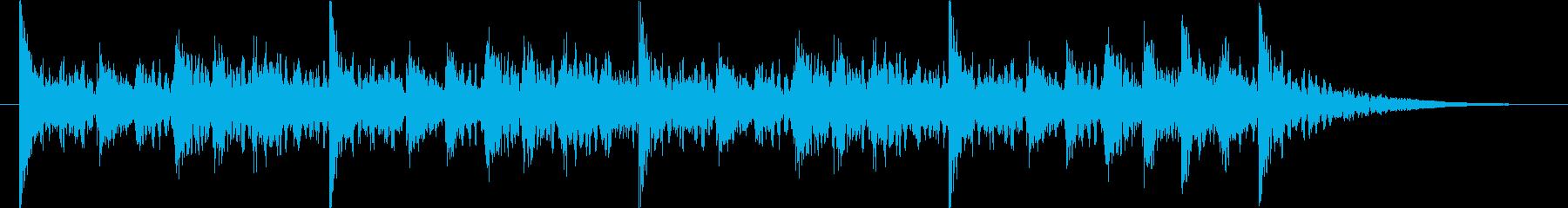 ダイナミックなクラップ&ストンプのロゴ!の再生済みの波形