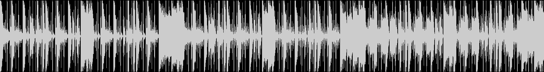 クールで知的なブレイクビーツBGMの未再生の波形