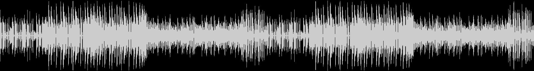 可愛い雰囲気のポップなEDMの未再生の波形