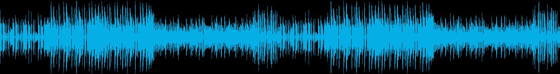 可愛い雰囲気のポップなEDMの再生済みの波形