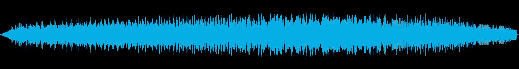 トーンアラームポリフォニックライズ...の再生済みの波形