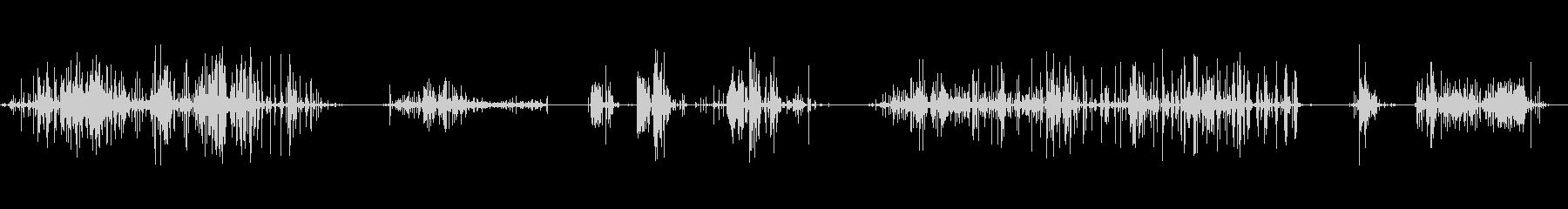 バースト、トリック、ストリームオブ...の未再生の波形