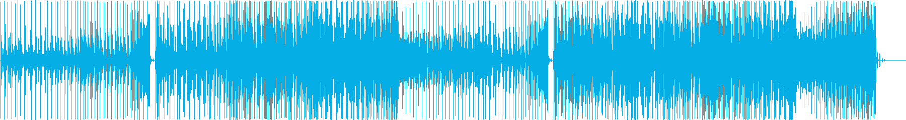 EDM系落ち着いたシックな曲-6の再生済みの波形