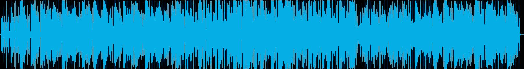 標準ジャズ。レゲエスタイル。の再生済みの波形