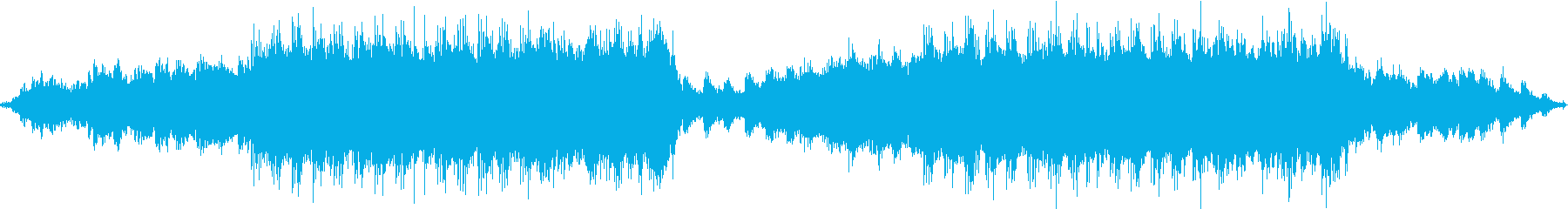 水をイメージしたヒーリングBGMですの再生済みの波形