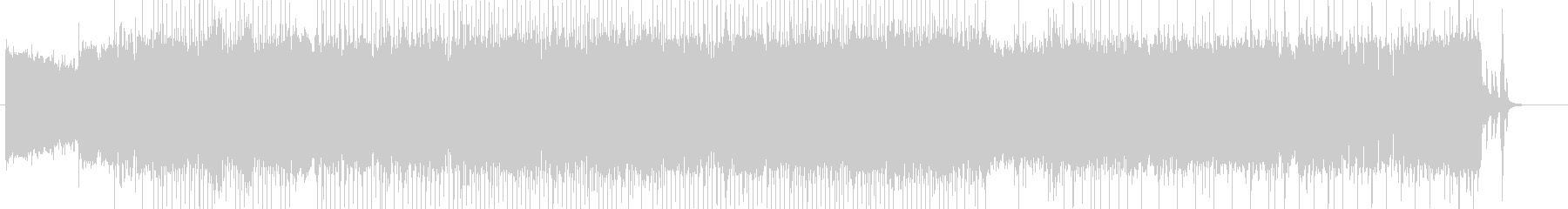 「HR/HM」「DARK系」BGM16の未再生の波形