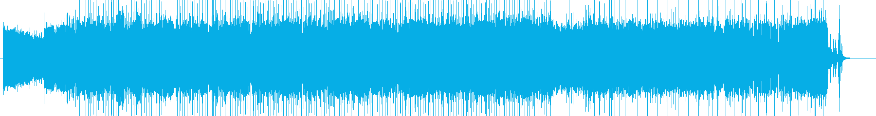 「HR/HM」「DARK系」BGM16の再生済みの波形