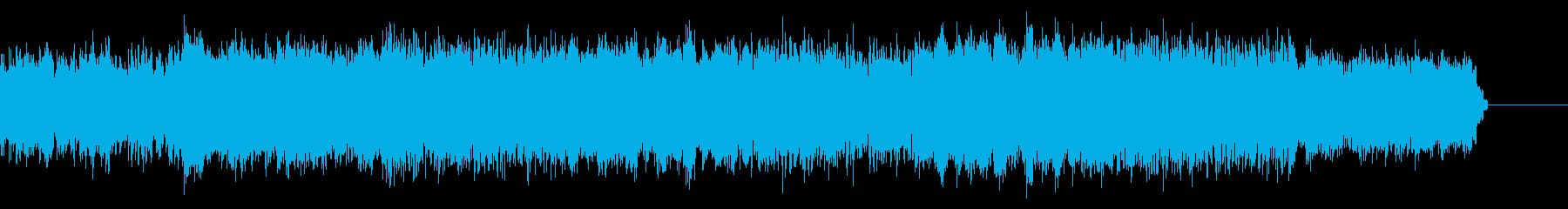 奇妙なシネマティックIDMの再生済みの波形