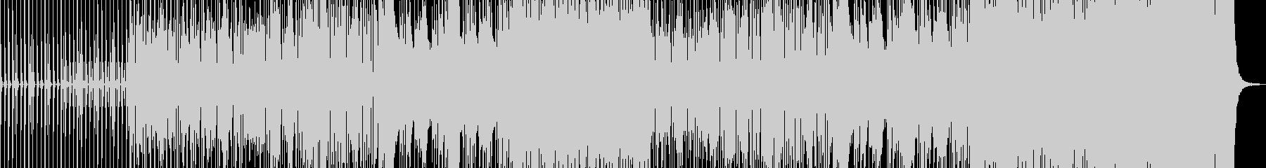 フューチャーでレトロでダンサブルの未再生の波形