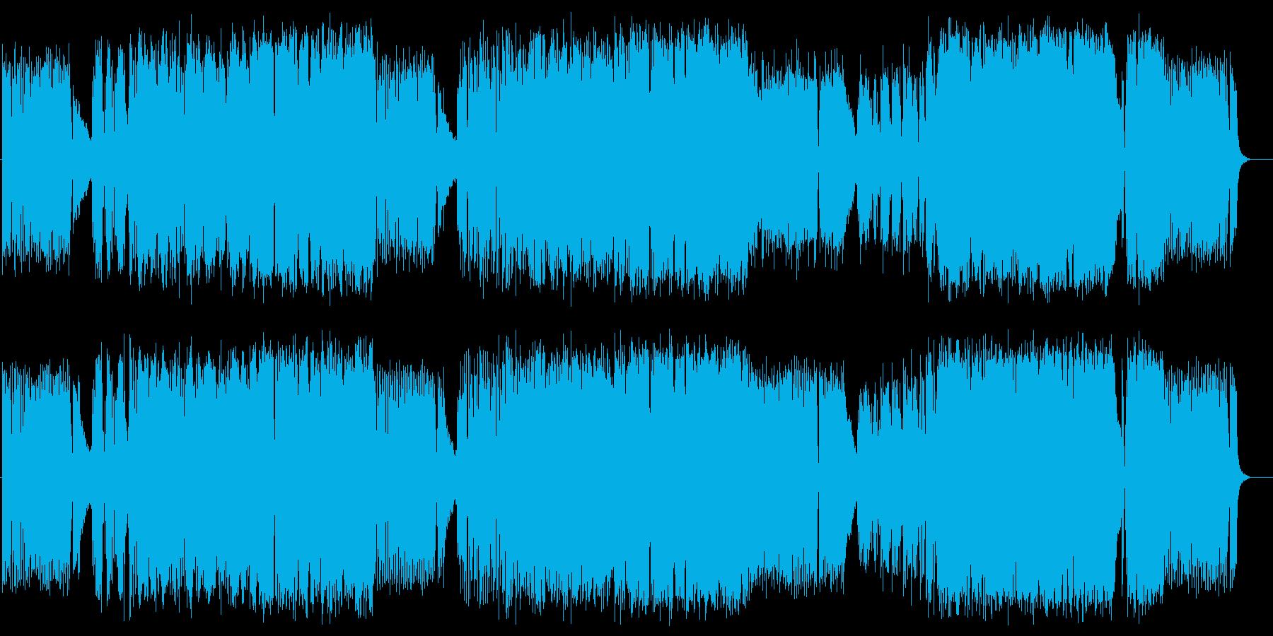 時雨通りの再生済みの波形