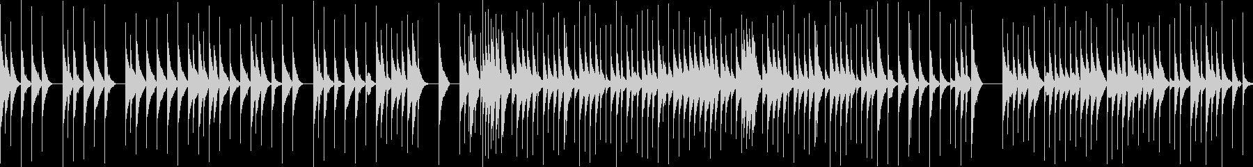 ジブリのようなオルゴール(ループ素材)の未再生の波形