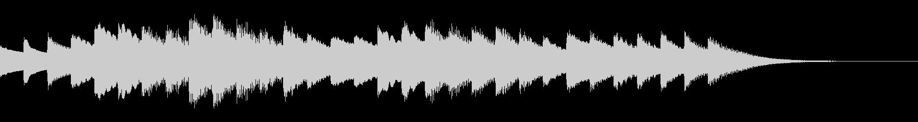 お風呂が沸いたときの音楽(チェレスタ)の未再生の波形
