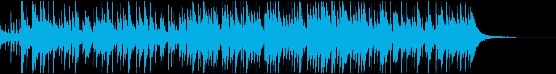 生演奏・クリスマス定番曲ボサノバアレンジの再生済みの波形