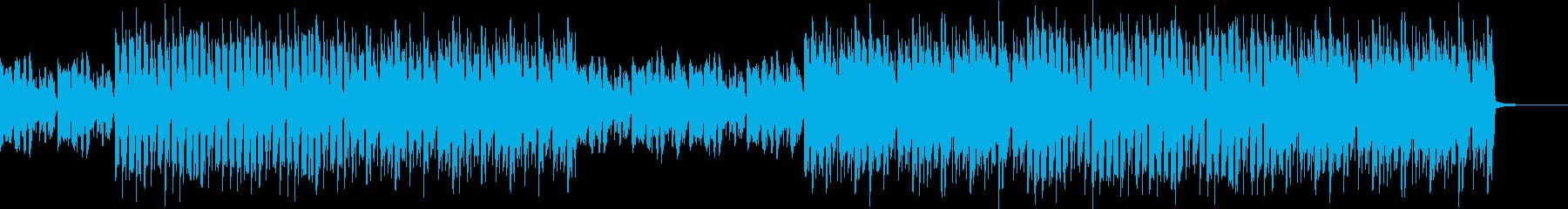 おしゃれ・クール・EDM・ハウス14の再生済みの波形