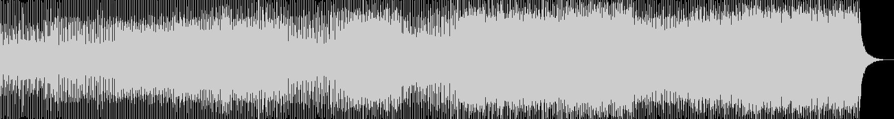 キラキラで優しい持続音多めのトランスの未再生の波形
